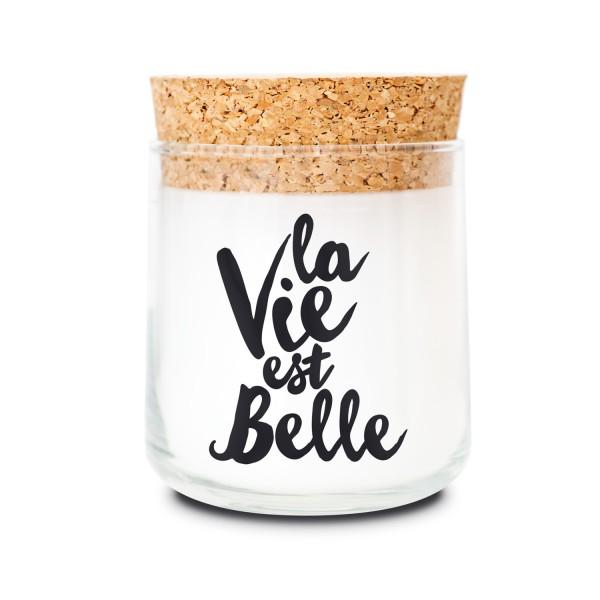 Duftkerzenglas - La vie est belle