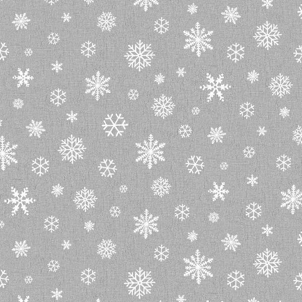 Tischsets Miami Druck Snowflake Grey White 30/45