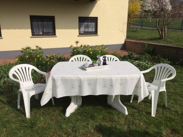 Friedola Gartentischdecke Classic Achillea Oval 160/220 cm