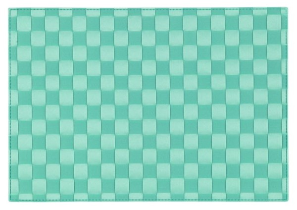 Tischsets Quadro Turquoise 30/45