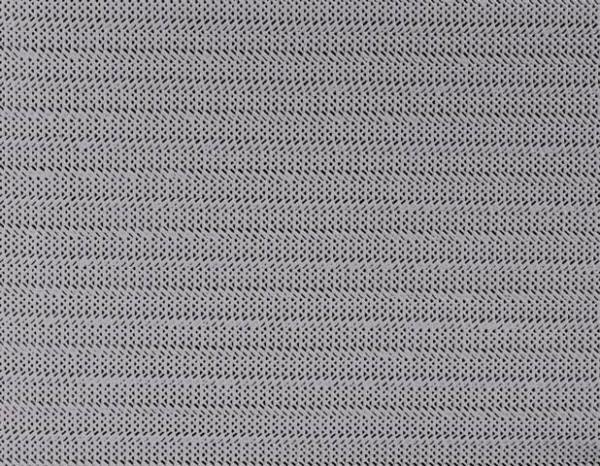 Gartentischdecke Milano mit Rautenpräge Lilac Grey 1,60/2,10 m