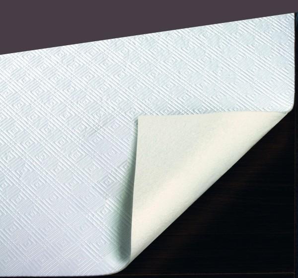 Tischpolster Optimoll, Weiß Oval auf Maß